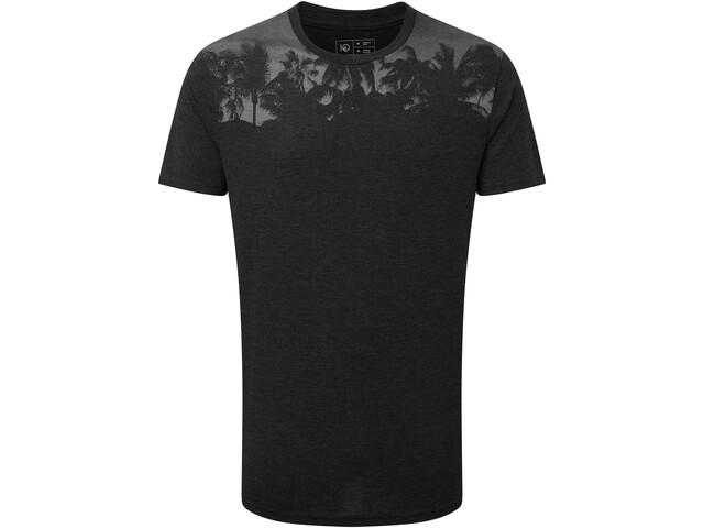 tentree Palm Classic T-Shirt Homme, meteorite black heather